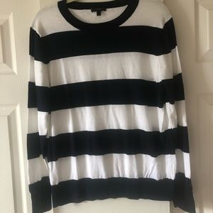 J.Crew  Striped sweater size XL
